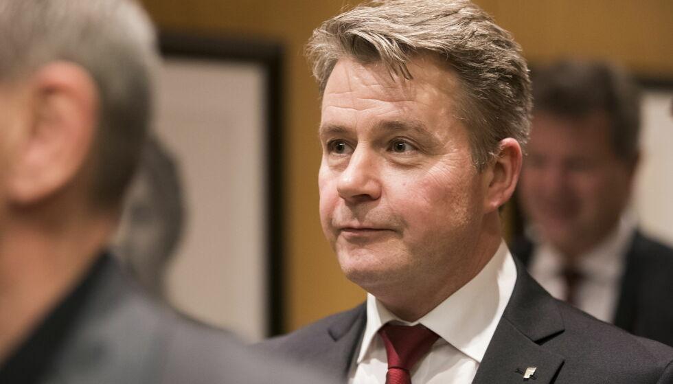 DROPPER FORSLAG: Justis- og beredskapsdepartementet sier at de har besluttet å skrinlegge forslaget om 40 års maksstraff for de alvorligste forbrytelsene. Foto: Håkon Mosvold Larsen / NTB scanpix