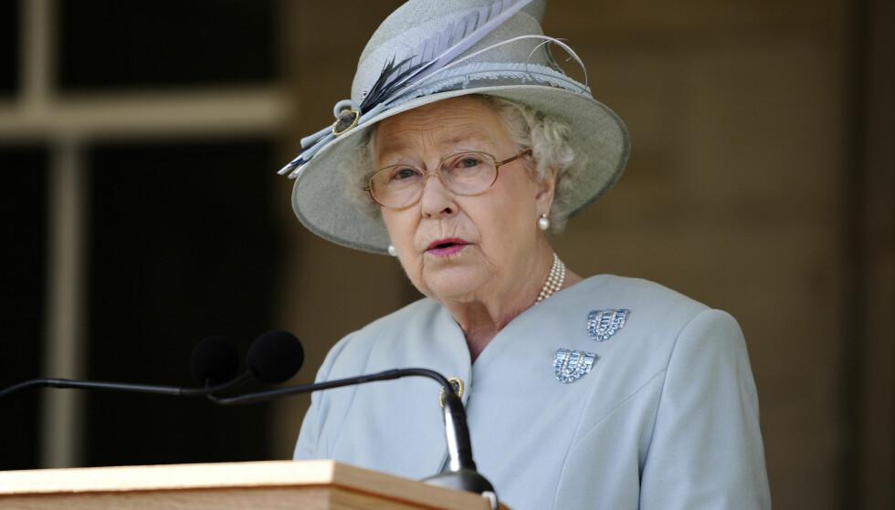 I SORG: Dronning Elizabeth har i en offentlig uttalelse kommet med varme ord til de pårørende og hjelpemannskap i etterkant av terrorhandlingen i Manchester Arena. Foto: NTB Scanpix