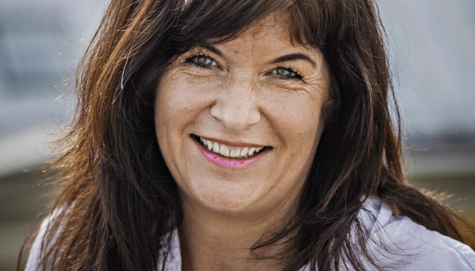 KRIMDEBUT: Agnes Matre har skrevet to romaner før. Foto: JØRN H. MOEN