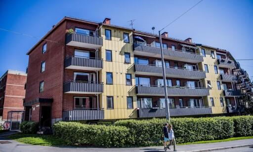 SLIPPER SKATT: Gården i Maridalsveien 175 eies av Trygve Bjerke, som slipper skatt på 53 leiligheter her. - Bjerke Eiendom forholder seg til de skatteregler som til enhver tid er gjeldende. Det sier Gunnar Naper, administrerende direktør i Bjerke eiendom.