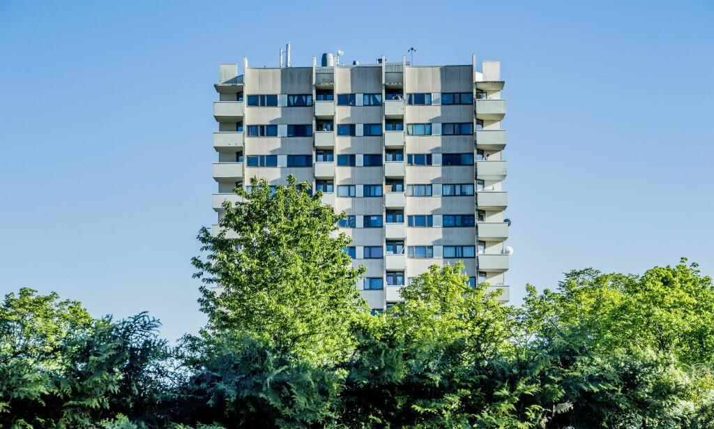 101 LEILIGHETER. Økernveien 149 eies av Ivar Tollefsen gjennom Fredensborg. Selskapet mener det er rimelig at eiendomsskatten følger den enkelte leilighet eller eiendom - enten den har inntekter eller ikke. Foto: Thomas Rasmus Skaug.