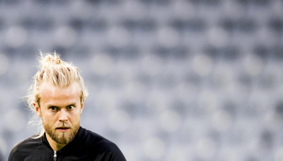 FRISTILT: Christian Gytkjær spilte for 1860 München denne sesongen, men ble fristilt etter nedrykket var et faktum. Foto: Jon Olav Nesvold / NTB scanpix