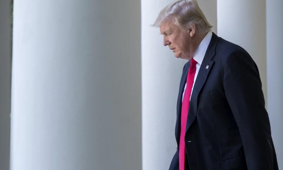ANKER: Donald Trump og hans administrasjon tar innreiseforbudet inn for Høyesterett. Foto: REX / Shutterstock / NTB scanpix