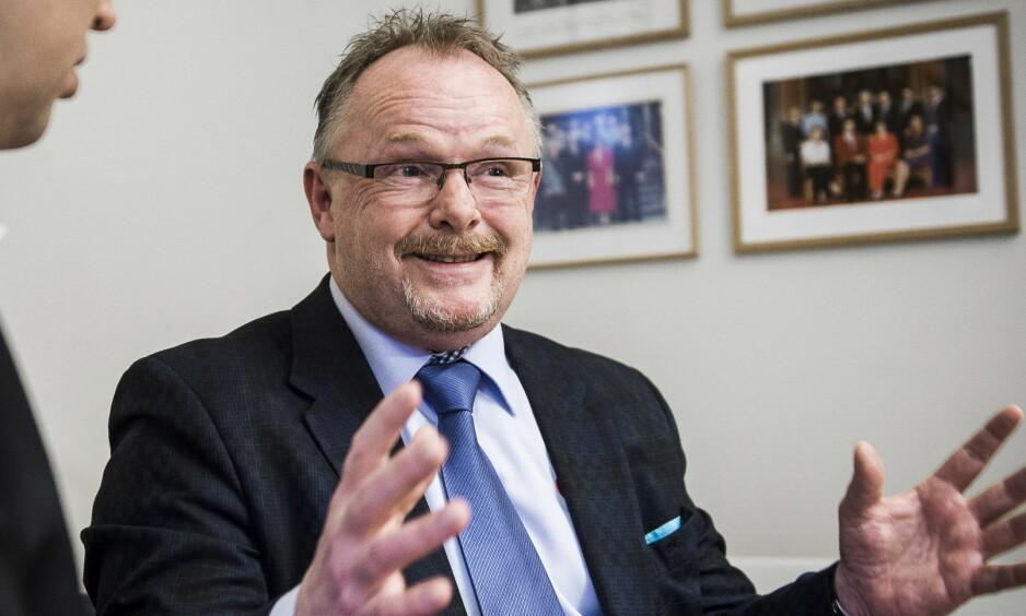 KRITIKK: Per Sandberg og NSL har fått sterk kritikk etter Dagbladets avsløring tirsdag. Foto: Lars Eivind Bones / Dagbladet