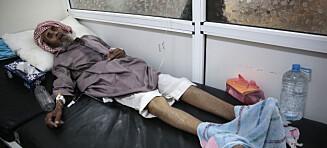 Kolera-epidemien skyter fart i Jemen. Minst 130.000 smittet, ifølge FN