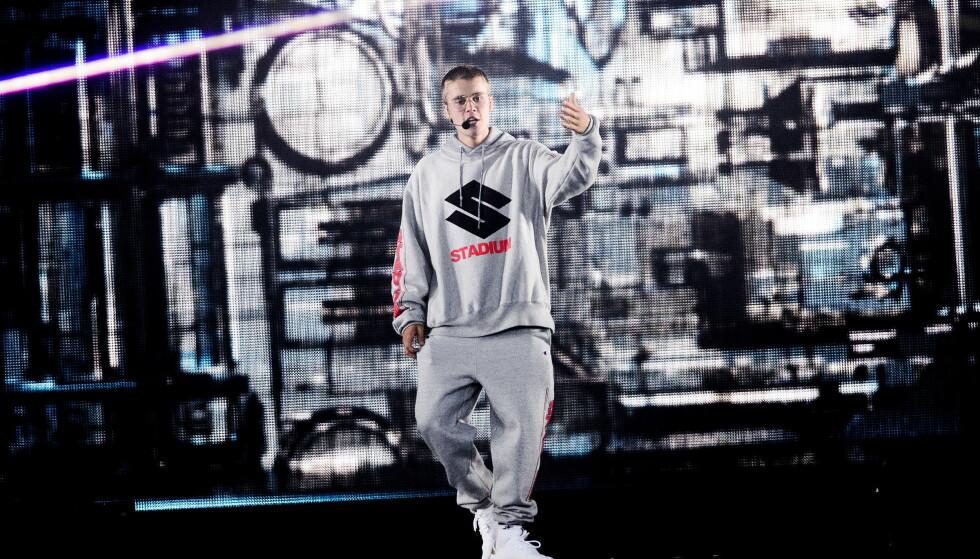 SKUFFET: Justin Bieber på Den Store Sommerfesten i Stavanger (Foto: John T.Pedersen / Dagbladet)