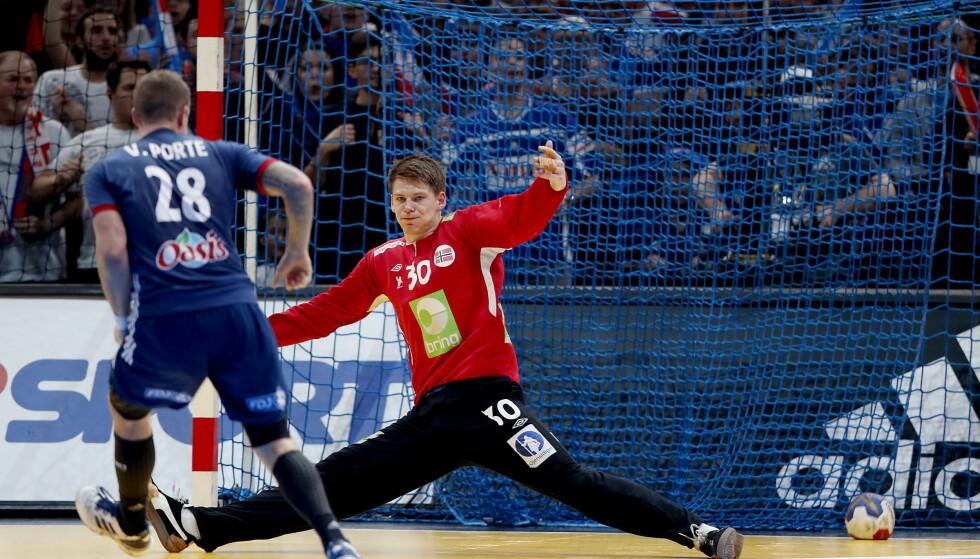 NY GOD KAMP: For Torbjørn S. Bergerud. Her fra VM-finaletapet mot Frankrike. Foto: Bjørn Langsem / Dagbladet