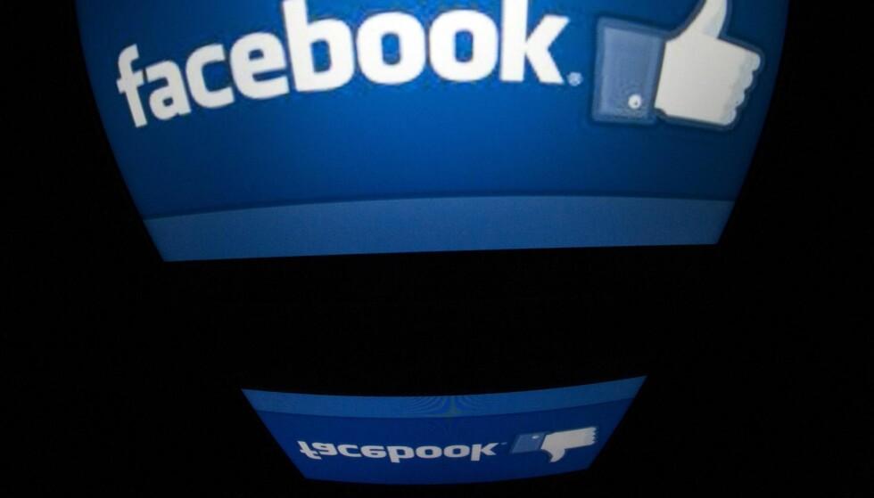 TOMMEL OPP? Alt du likar på Facebook blir vidareformidla til alle på venelista di, og dette kan juridisk bli problematisk. Foto: NTB Scanpix
