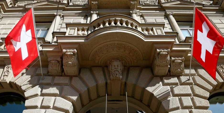 I SVEITS: Norges rikeste hadde 4100 millioner dollar i sveitsiske banker alene. 90–95 prosent av kontoene disse pengene sto på var ikke rapportert inn til norske myndigheter, skriver artikkelforfatteren. Foto:Reuters / NTB Scanpix
