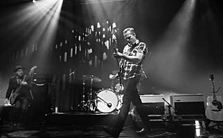 ROCKA: Jason Isbell med The 400 Unit i Oslo. Foto: Frank Karlsen / Dagbladet