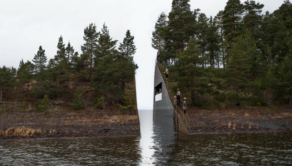 Sanner skal nå vurdere plassering av minnesmerket på Utøykaia opp mot det som var planlagt på Sørbråten (bildet), men sier han vil komme med sin beslutning før sommeren. Foto: NTB Scanpix