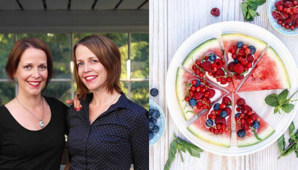 GRØNNE MATBLOGGERE: Linda og Lene Engelstad er ikke vegetarianere, men liker å spise vegetarmat. Favorittoppskriftene legger de ut på bloggen Our Kitchen Stories. Foto: ourkitchenstories.no