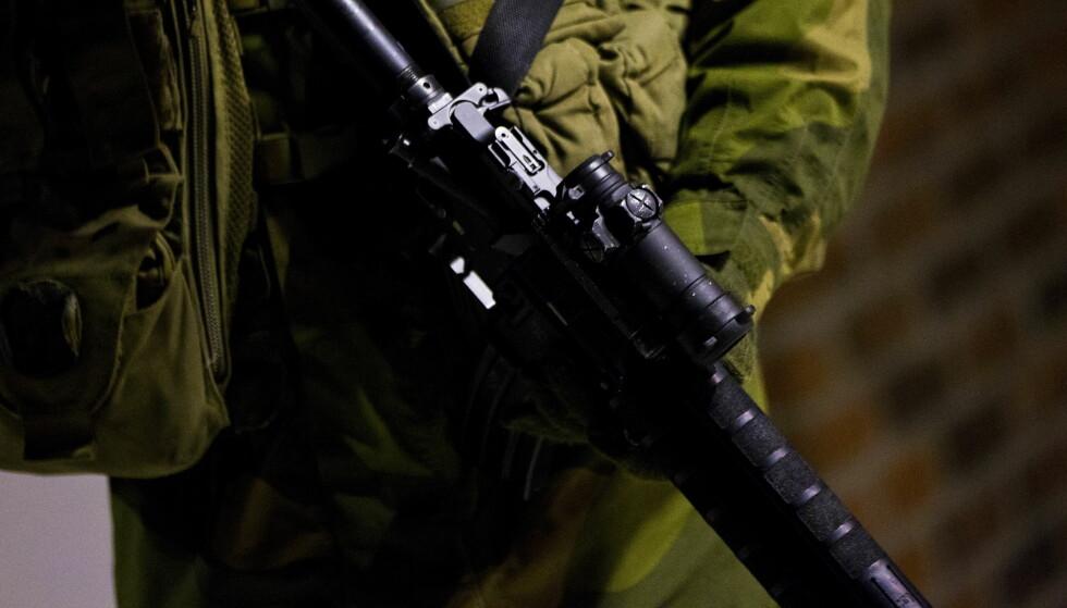NY SIKKERHETSLOV: Den nye bistandsinstruksen skal forenkle samarbeidet mellom politi og forsvar. Illustrasjonsfoto: Vegard Grøtt / NTB scanpix