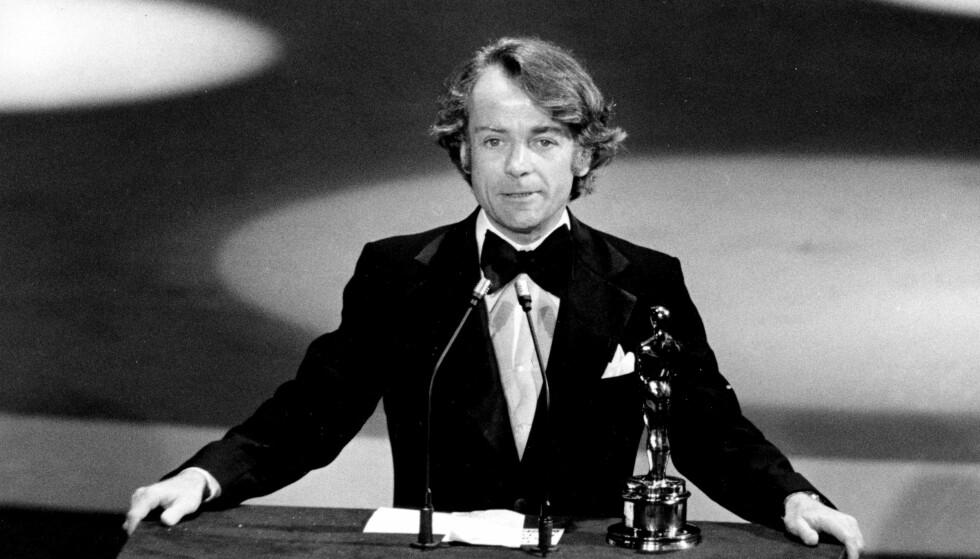 VANT OSCAR: John G. Avildsen ble i 1977 tildelt Oscar for filmen «Rokcy». Avildsen døde av kreft, 81 år gammel. Foto: AP / NTB Scanpix