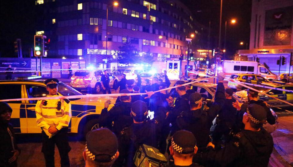 MEDIEDEKNING: I etterkant av terrorangrepet utenfor moskeen i London, mente mange at dette angrepet ikke fikk nok mediedekning på samme måte som tidligere terrorangrep, skriver artikkelforfatter. Foto: REUTERS/James Cropper/NTB Scanpix