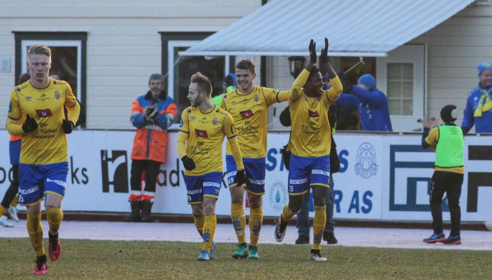 MØTER RBK: Jerv tok seg videre i cupen onsdag. Nå venter Rosenborg i neste runde. Foto: Tor Erik Schrøder / NTB scanpix