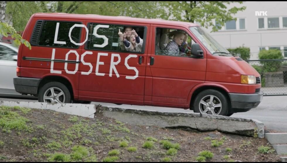 Punkt 7: Mal bilen til foreldrene dine rød. Foto: NRK