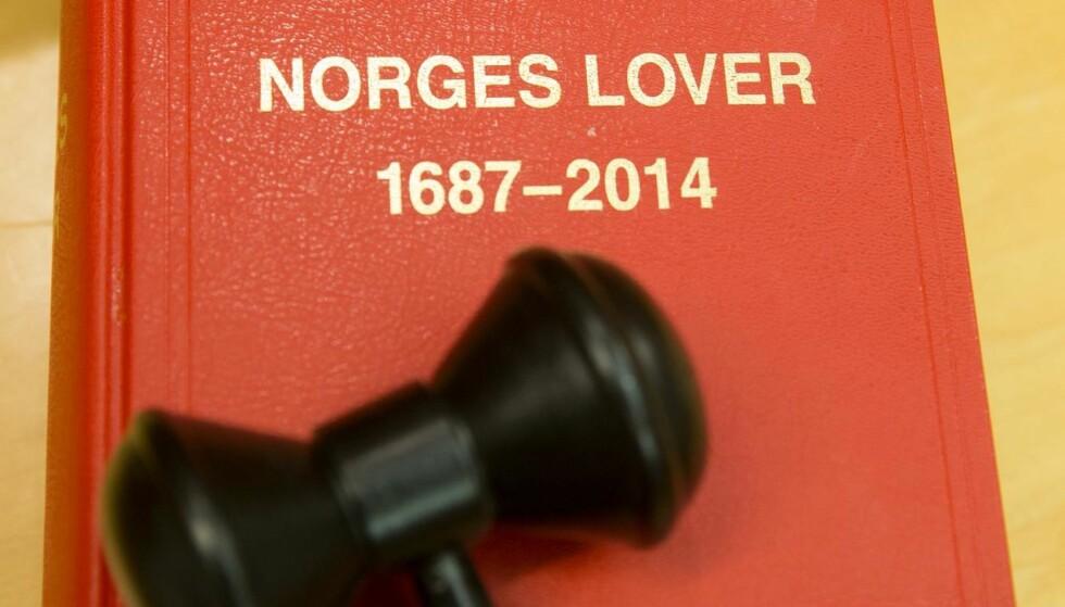 NORGES LOVER: Gjelder også for byråkrater og politikere