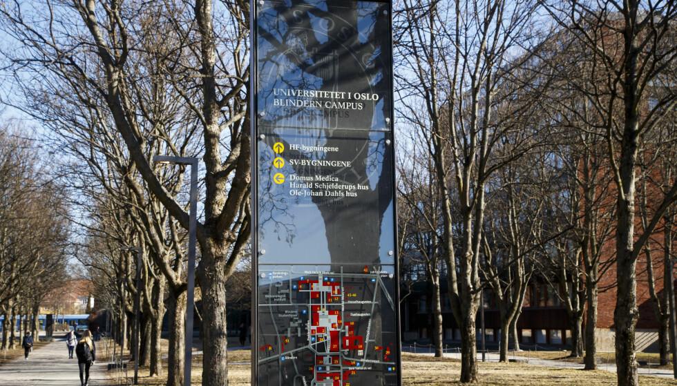 LOVBRUDD: Universitetet i Oslo brøt loven, men ble reddet av smutthull. Foto: Heiko Junge / NTB scanpix