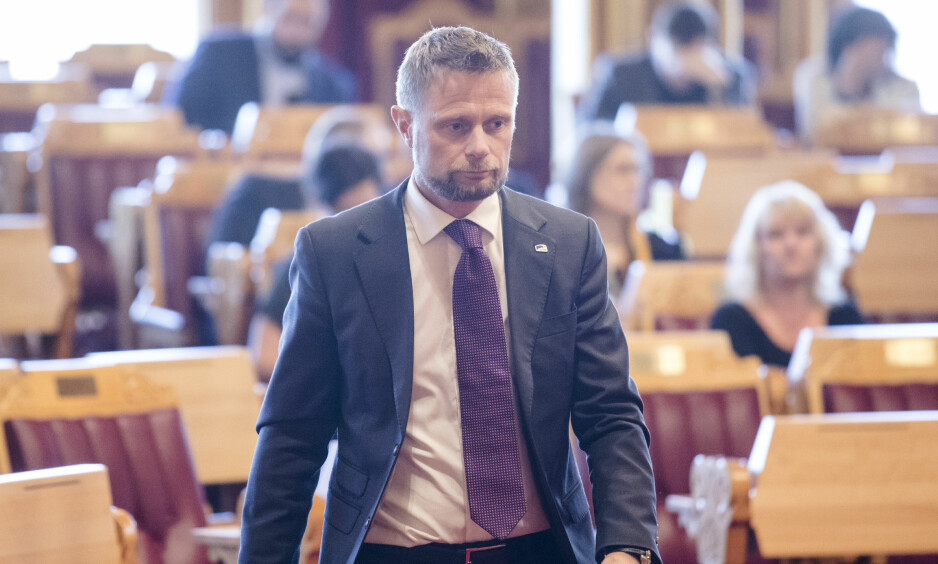 FASTLEGEANSVARLIG: Helse- og omsorgsminister Bent Høie (H) har det øverste ansvaret for fastlegeordningen. Foto: Audun Braastad / NTB scanpix
