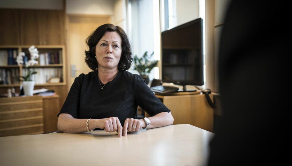 KOMBINERE: Barneminister Solveig Horne sier det er aktuelt å kombinere barnevern og psykiatri på Sørlandet. Foto: Lars Eivind Bones / Dagbladet