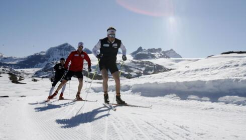 SOGNEFJELLET: Landslagsløperne trener ofte på Sognefjellet, men det er plass til deg også. Foto: Tormod Brenna