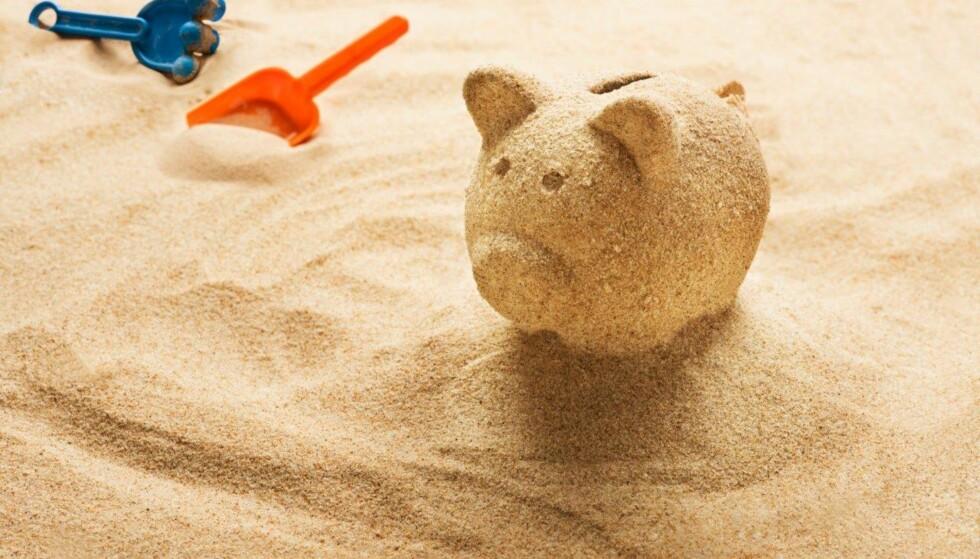 I GRISEN: Ferien er en gyllen mulighet til å lære barna pengevett, skriver artikkelforfatteren. Foto: Shutterstock