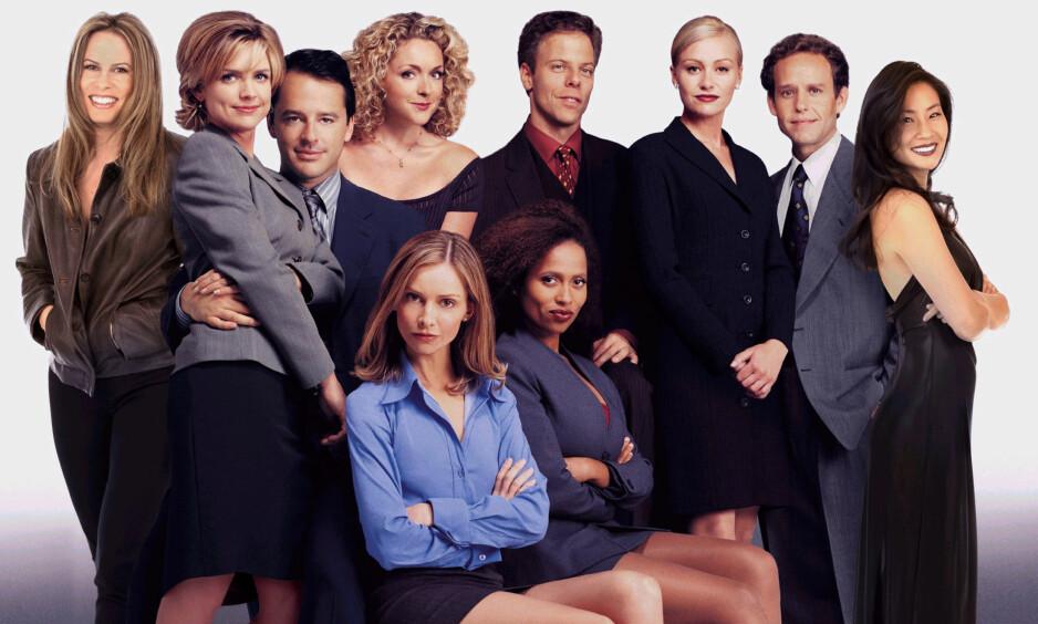 SEERSUKSESS: «Ally McBeal» var en av de mest populære tv-serier på kanalen Fox på slutten av 90-tallet. Foto: NTB scanpix