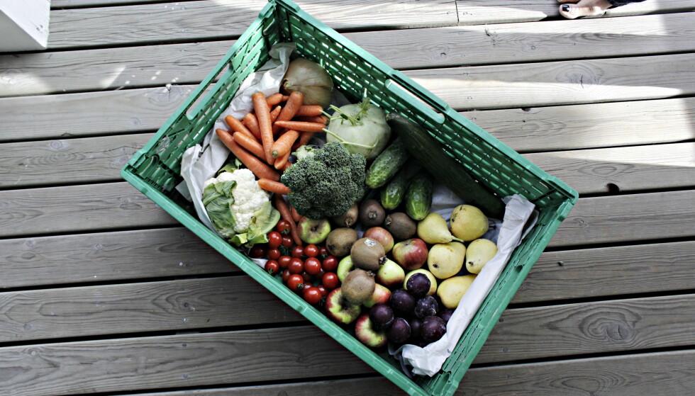RIKTIGE KARBOHYDRATER I GRØNNSAKER: Hexeberg anbefaler pasienter med diabetes å spise mindre karbohydrater, men det betyr ikke dermed at en skal spise mindre grønnsaker selv om disse også inneholder karbohydrater. Foto: Frank Karlsen / Dagbladet