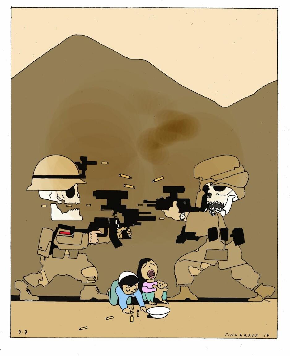 Krigen i Afghanistan kan ikke vinnes