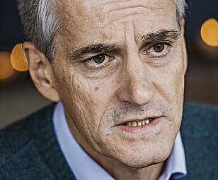 AP-LEDER: Jonas Gahr Støre. Foto: Jørn H Moen / Dagbladet
