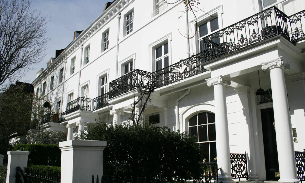 HISTORISKE GATER: Men mange av Londons mest ettertraktede leiligheter står tomme. Foto: Shutterstock / Scanpix.