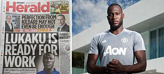 «Ingen» klarer å se forskjell på rapartisten og Manchester Uniteds stjernesignering. Så gikk irsk avis på en kjempeblemme