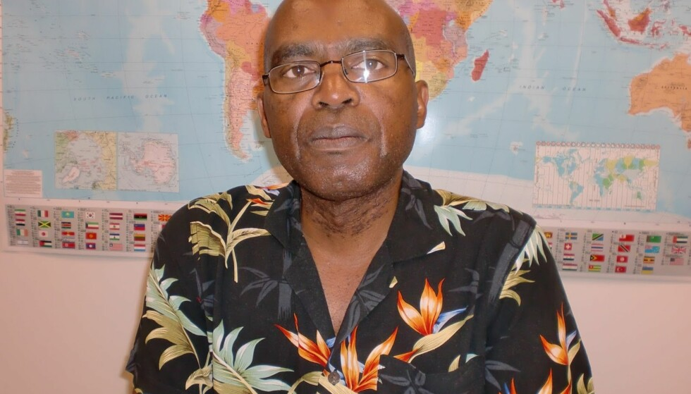 FENGSLET: Joseph Nkusi kom til Norge i 2009 for å delta i et forskningsprosjekt ved Universitetet i Bergen. Han søkte asyl i 2010. Høsten 2016 ble han tvangsutsendt fra Norge og i mars 2018 ble han dømt til ti års fengsel av rwandiske myndigheter. Foto: Privat