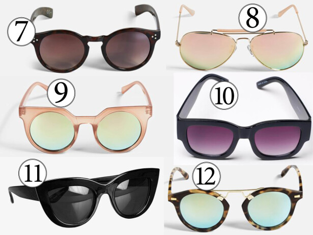 Sommerens fineste solbriller for under 400 kroner