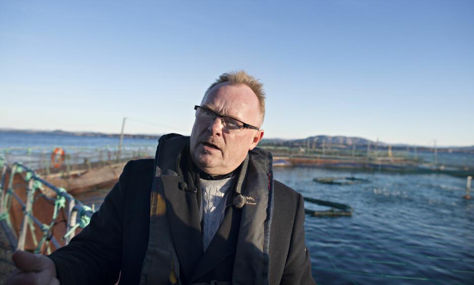 PÅ AVVEIE: Flere e-poster en av sjømatnæringas mektigste lobbyister forsøkte å sende til fiskeriminister Per Sandberg (Frp), havnet på avveie. E-postene skulle være hemmelige. I dag kan Dagbladet gi et innblikk i den skjulte lobbyvirksomheten inn mot Fiskeridepartementet. Foto: Roar Christiansen / Bergens Tidende / NTB Scanpix
