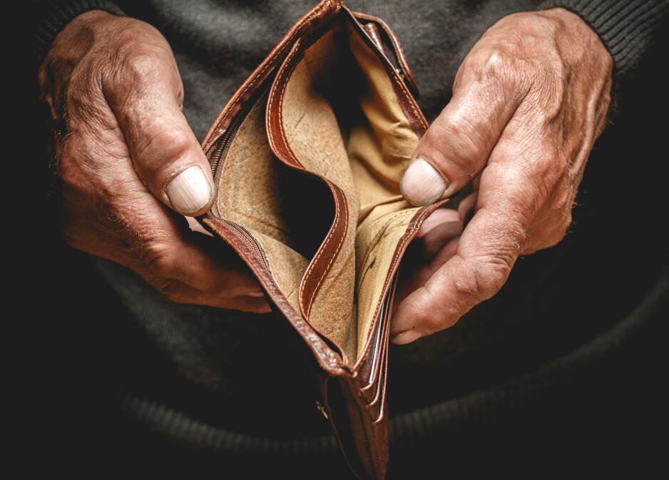 Anmerkning: En betalingsanmerkning kan føre til flere utfordringer. Blant annet får man ikke ta opp lån. Foto: Perfectlab / Shutterstock / NTB Scanpix