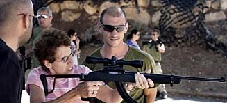 I Israel kan du være militærturist og «skyte» palestinere