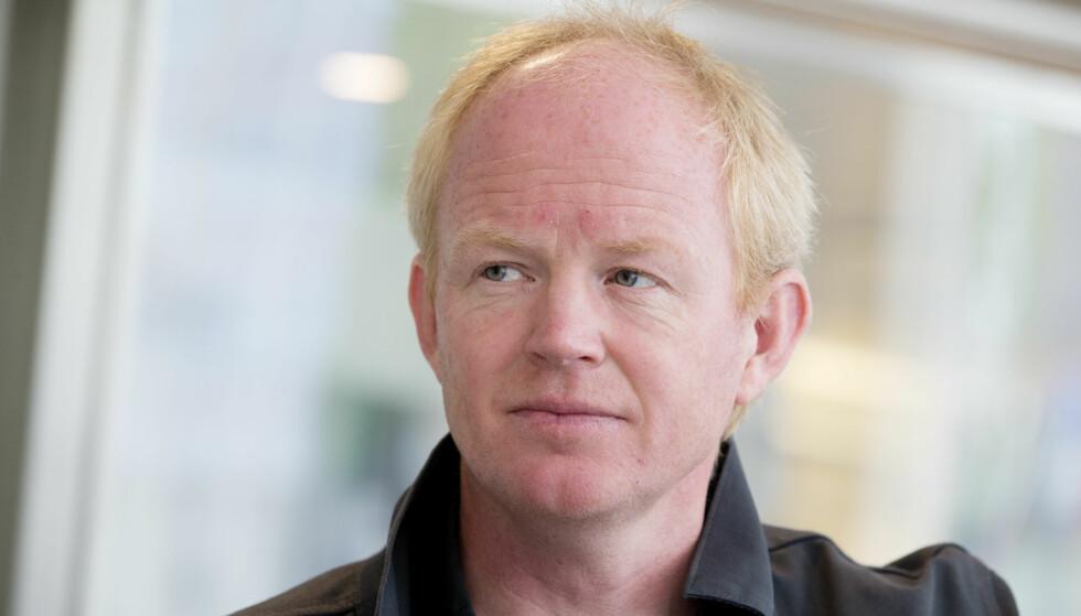 ENGASJERT I FLUOR: Lars Haltbrekken (SV). Foto: Håkon Mosvold Larsen / NTB scanpix