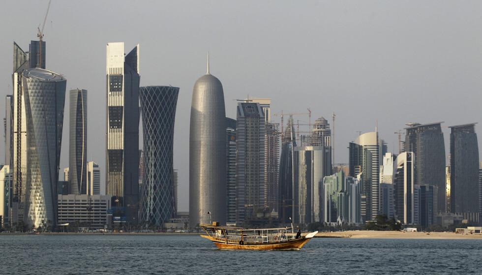 DOHA: I mai ble nettstedet til Qatars nyhetsbyrå hacket. Ifølge amerikanske tjenestemnn sto De forente arabiske emirater bak hackingen. Foto: AP Photo / Saurabh Das / NTB scanpix