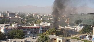 Minst 24 drept i selvmordsangrep i Kabul