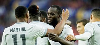 Manchester United herjet med Vålerenga på Ullevaal