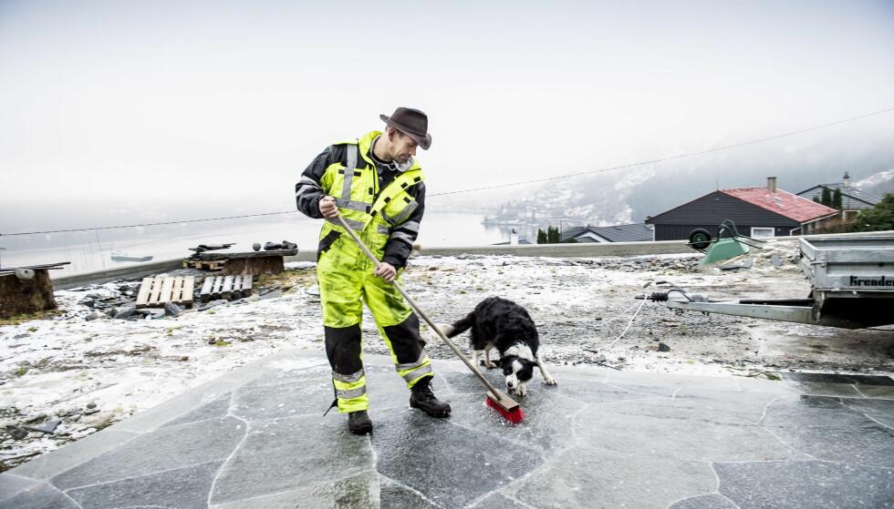 TREKKPLASTER: Leif Einar Lothe - eller bare Lothepus - gis en del av æren for at turiststrømmen til Odda og Hardanger har økt kraftig de siste årene. Foto: Lars Eivind Bones