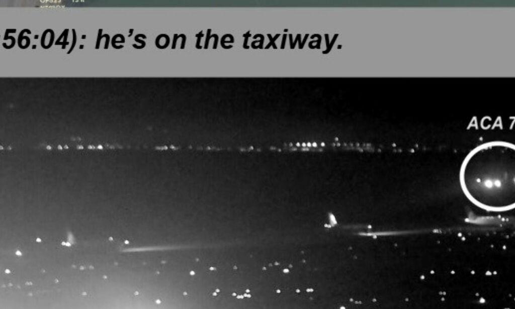 image: Var sekunder fra tidenes verste flykatastrofe - se videoen
