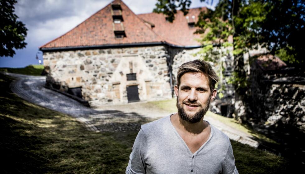 VINNER: Aslak Nore får årets Rivertonpris. Foto: Christian Roth Christensen / Dagbladet