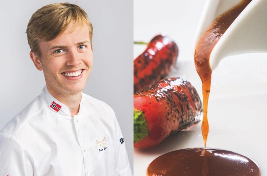 PRIKKEN OVER I'EN: En godt krydret grillsaus løfter sommermaten til nye høyder, mener Geir Skeie, verdensmester i kokkekunst og restauratør i Sandefjord og Hemsedal og på Stord. Alle foto: Paal André Schwital