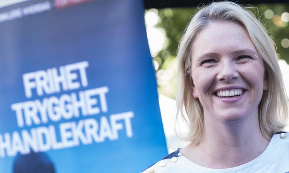 RETORIKK: For Listhaug er det viktigere å si hva hun og Frp helst vil, enn å få gjennomført mest mulig.