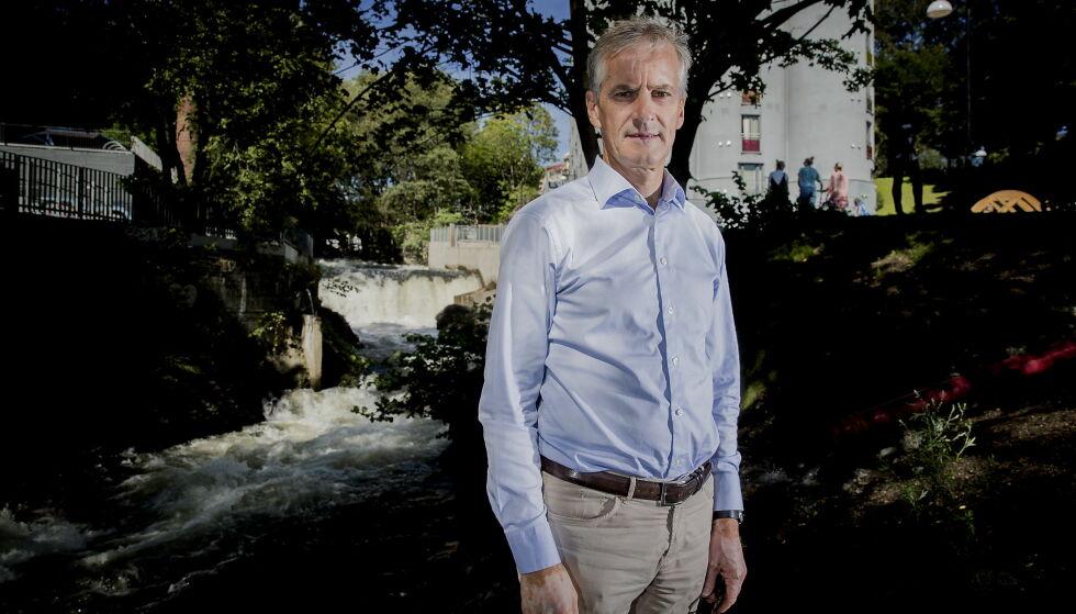 FÅR PÅ PUKKELEN: Jonas Gahr Støre, for sin opptreden rundt Muhammed-karikaturene. Foto: Bjørn Langsem / Dagbladet
