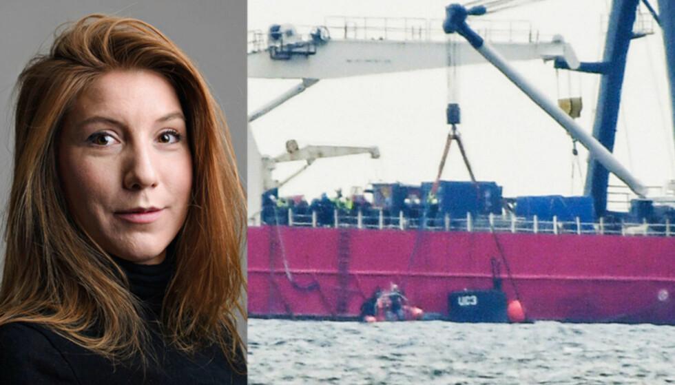 FORTSATT SAVNET: Kim Wall er fortsatt savnet etter at hun sist ble observert sammen med den danske oppfinneren Peter Madsen på hans ubåt, torsdag. Foto: TT / NTB Scanpix