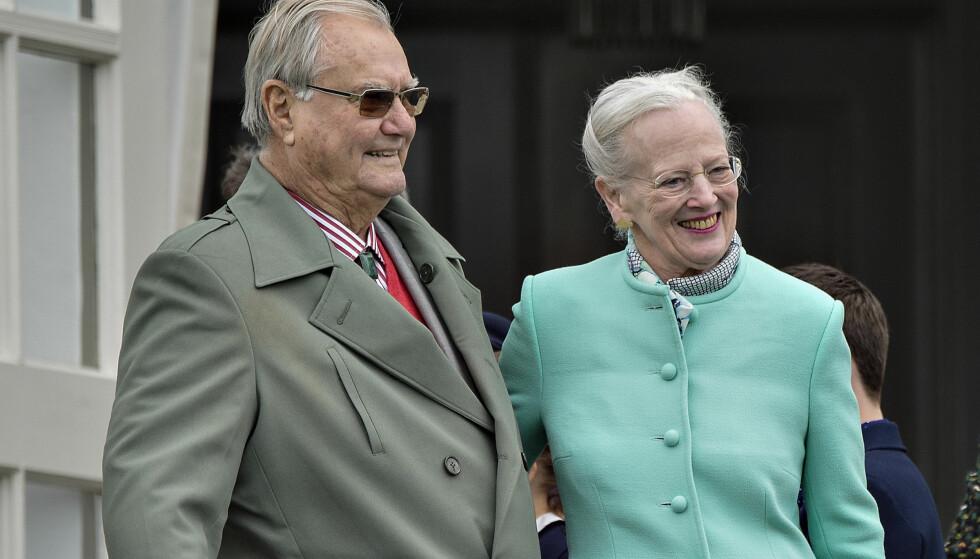SYK: Prins Henrik av Danmark (83), dronning Margrethes ektemann, lider av demens, opplyser kongehuset. Foto: Henning Bagger / NTB scanpix